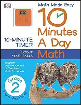 10 Minutes a Day Math Second Grade DK 9781465402318 Amazoncom