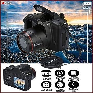 dozenla Digital Camera Video Camcorder, Full HD 1080P 16.0MP CMOS Sensor Camera, 2.4