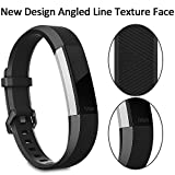 RedTaro Bands Compatible with Fitbit Alta HR/Fitbit Alta, Adjustable Replacement Accessory Bands for Fitbit Alta for Women/Men