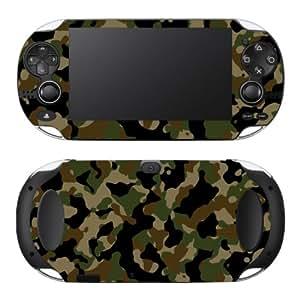 "Motivos Disagu Design Skin para Sony Playstation Vita: ""Camouflage Grün"""