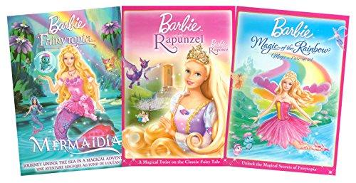 Barbie Collection # 5 (Barbie Fairytopia: Mermaidia / Barbie as Rapunzel / Barbie Fairytopia: Magic of the Rainbow)