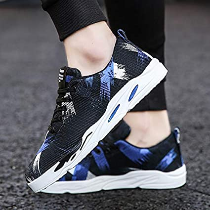 6fe275578ebef Amazon.com : NANXIEHO Trend Men Sport Leisure Shoes Comfortable ...