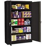 Tennsco-Assembled Jumbo Steel Storage Cabinet, 48W X 24D X 78H