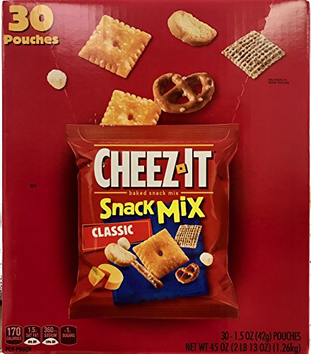Cheez it - Snack Mix - 30 Bags - Value Pack!
