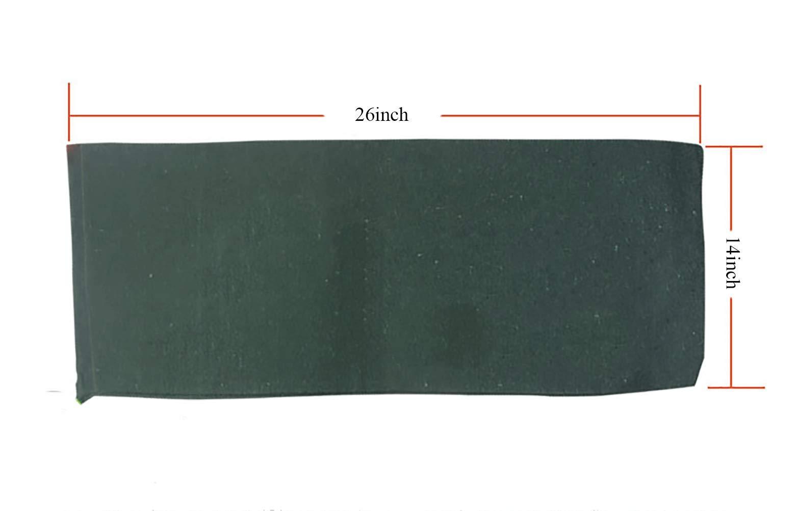 OriginA Empty Sandbag Flood Barrier Sand Bags for Flood Control, Eco-Friendly, 14x26in, 20 Pack, Green by OriginA (Image #4)