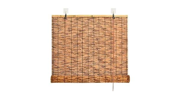SU AMEI Persianas enrollables Exterior, Cortinas de bambú