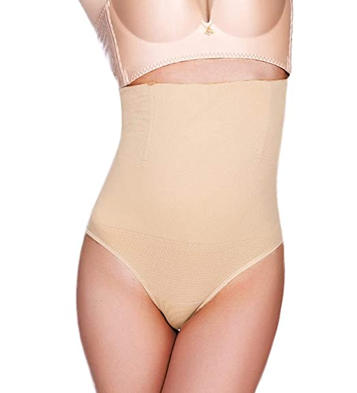 c65265c4314 AtRenee Waist Cincher Girdle Women Shapewear Tummy Control Sexy Thong Panty  Slimmer Seamless Body Shaper