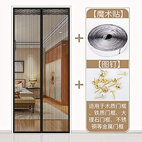 Extsud Magnetic Screen Door Keep Insects Out Mosquito Door Screen Easy To Instal
