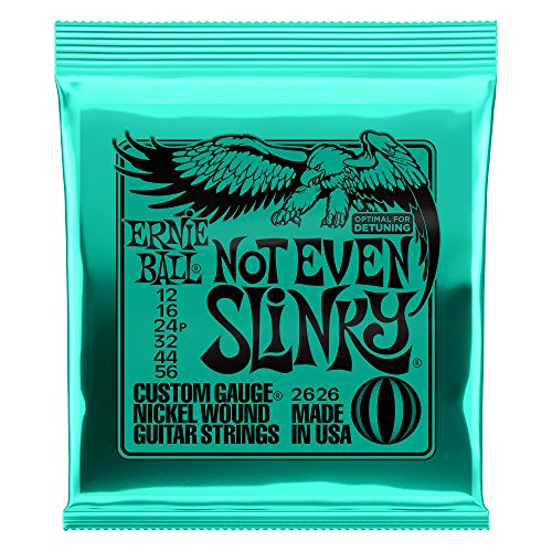 (Ernie Ball Not Even Slinky Nickel Wound Set, .012 - .056)