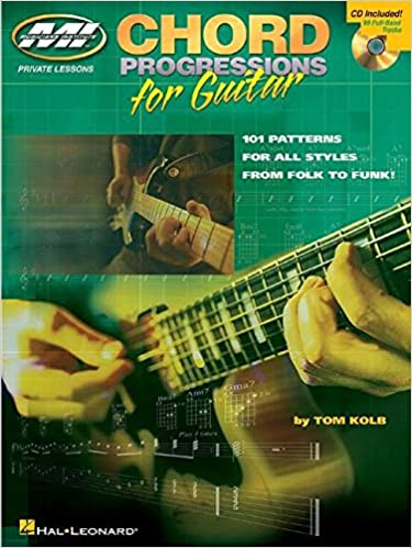 Amazon.com: Chord Progressions for Guitar: Private Lessons Series ...