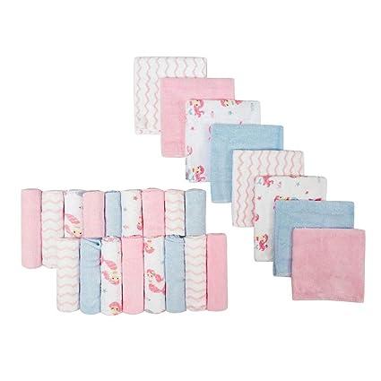 Softan Toallitas para bebé y Toallas de baño, excelente Regalo para bebés, 24 Piezas