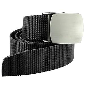 9story Men's Tactical Belt Webbing Military Style Duty Nylon Belts