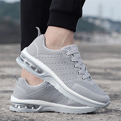 athlétique Baskets Gym Fitness Course Sneakers Homme 5066 Chaussures Chaussures de Grey Sports Outdoor Femme de Multisports awwPvq7SB