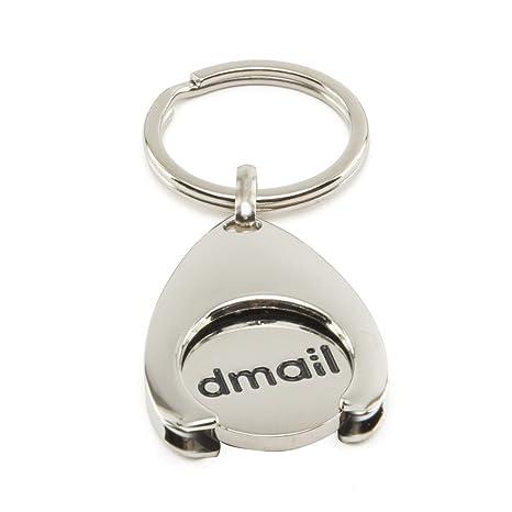 dmail - Llavero con moneda para carro - gota: Amazon.es: Hogar