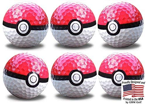 Official Go Balls 6 pk by GBM Golf