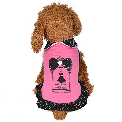 Big Promotion!!Farjing Spring And Summer Doll Collar Skirt Dress Dog Costumes Pet (Matching Costumes For Dog And Owner)