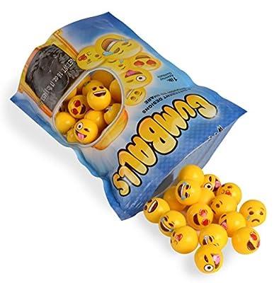 Emoji Universe: Bag of Emoji Gumball Refills, 1 lb of Gumballs Bulk from Kangaroo Manufacturing