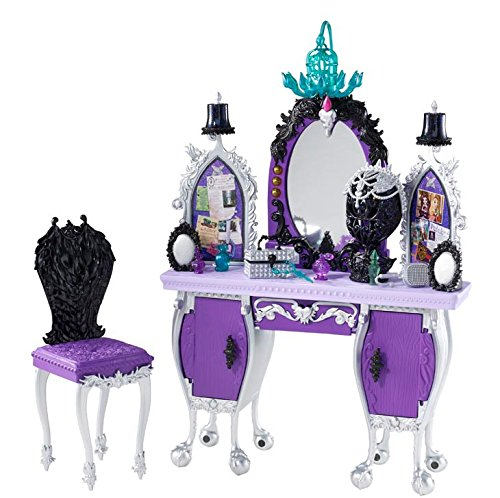 Ever After High Getting Fairest Raven Queen Destiny Vanity Accessory]()