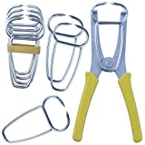 Feiyang Miter Spring Clamps Kit For Woodworking & Picture Frames & Wood Trim & Moldings