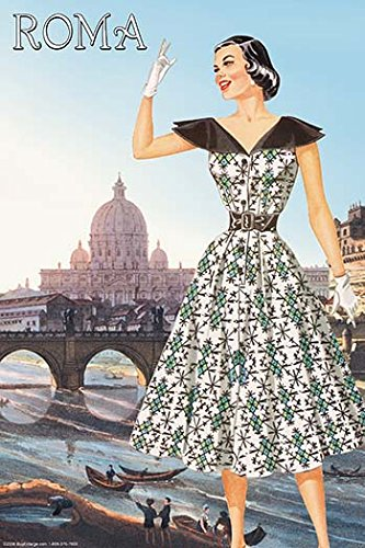 Buyenlarge Roma Vatican View Fashion I - Gallery Wrapped 44
