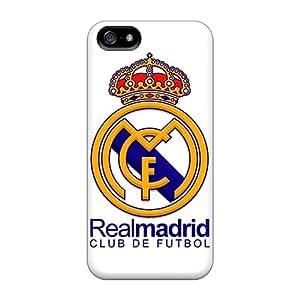 JacquieWasylnuk Apple Iphone 5/5s Great Hard Phone Case Provide Private Custom Trendy Fc Real Madrid Pattern [FPy15590DRLc]