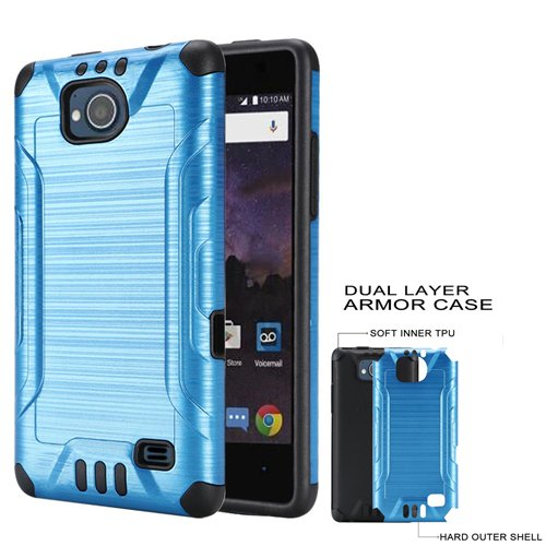quality design 691ec ec68d Amazon.com: Phone Case for ZTE Majesty-Pro, Majesty Pro Plus, Tempo ...