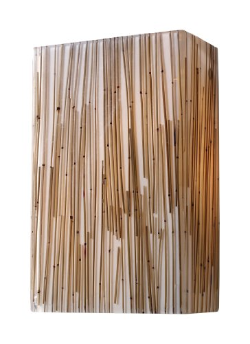 Elk 19060/2 Modern Organics-2-Light Sconce In Bamboo Stem Material In Polished (Polished Chrome Accessory Stem)