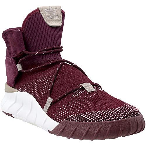 adidas Mens Tubular X 2.0 PK Basketball Casual Shoes, Maroon, 11