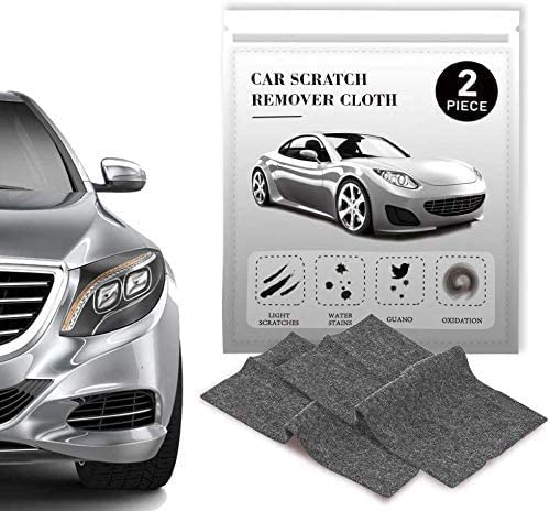 CASEIER Nano Sparkle Cloth - Nano Magic Cloth for Car Scratch Remover, Nano Cloth Scratch Remover, Nano Sparkle Cloth for Car Scratches.Easy to Repair Light and Small Scratched on Surface 2 Pcs