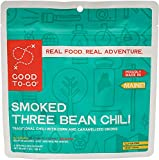 vegan dehydrated food - Good To Go Smoked Three Bean Chili (Double Serving)