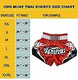 FLUORY Muay Thai Fight Shorts,MMA Shorts Clothing