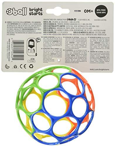 Oball Classic Palla facile da maneggiare, Multicolore 3