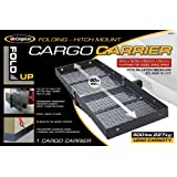 "CargoLoc Hitch Mount 60"" x 19.5"" Cargo Carrier, Fold-Up - 500 lbs"