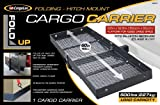 CargoLoc Hitch Mount 60-Inch x 19.5-Inch Cargo Carrier, Fold-Up, 500-Pounds