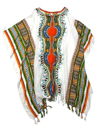 エスニックポンチョ アフリカン柄 エスニック衣料