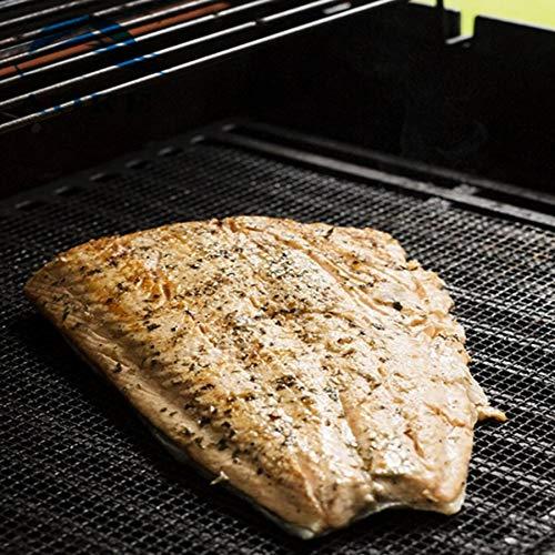 Lovelysunshiny BBQ Mesh Grill Mat Non Stick Barbecue Cooking Mesh Mats PTFE Baking Sheet Pad by Lovelysunshiny (Image #4)
