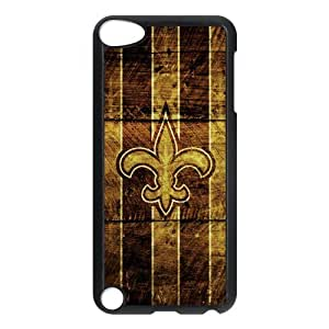 Different Style Custom Personalized Sports NFL New Orleans Saints Ipod Touch 5 Case New Orleans Saints Logo Cover Ipod 5 TU543512