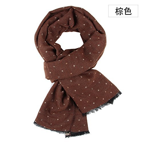 f96477bed4862 Amazon.com: SED Scarf-Male Students All-Match Winter Scarf Knitted Scarf  Imitation Cashmere Scarf Female Autumn and Winter Korean Students Knitted  Shawl ...