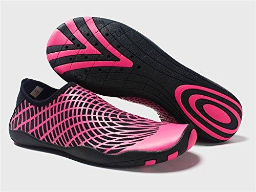 Aire Zapatos 45 de Zapatos Natación Playa de Parche Libre Antideslizantes de al XIE par de Zapatos 35 Red Descalzo Zapatos vadeo Zapatos rose aAfdqxw