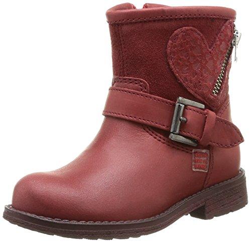(Agatha Ruiz de la Prada 141982 Red Leather Boots EU 27/US 9.5-10)