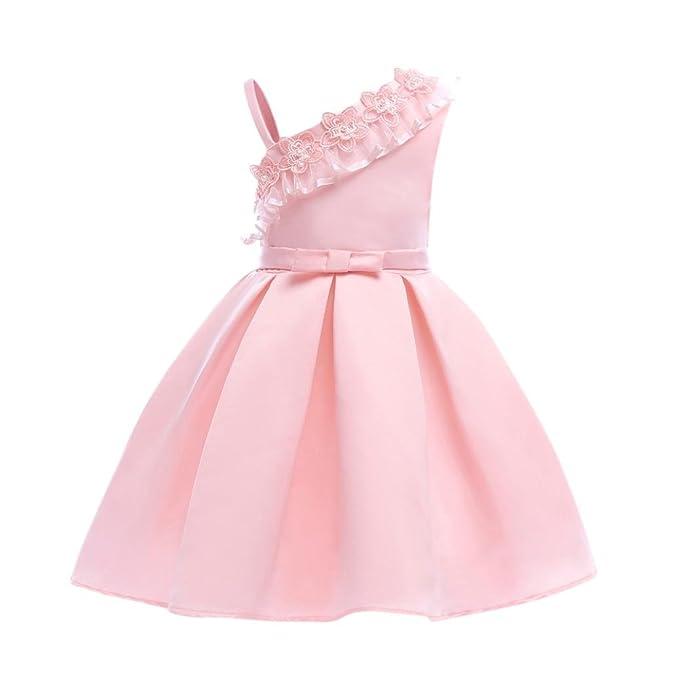 Vestidos Niñas Fiestas Boda,Vestido Elegante de la Boda de la Fiesta de