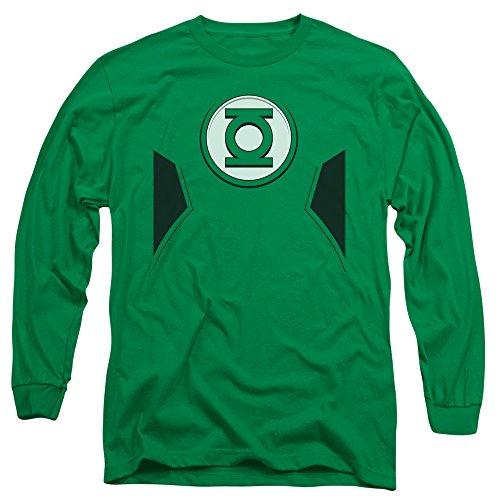 Justice League DC Comics New GL Costume Adult Long Sleeve T-Shirt ()