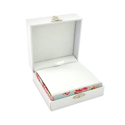Premium Necklace And Earring Gift Box Velvet Soft Lining Vintage Catch 9cm S X 9cm S