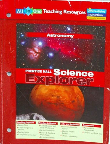 Prentice Hall Science Explorer: Astronomy (all-in-one teaching resources)