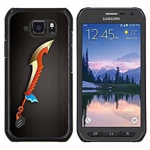 """Be-Star Único Patrón Plástico Duro Fundas Cover Cubre Hard Case Cover Para Samsung Galaxy S6 active / SM-G890 (NOT S6) ( Magic Sword"""" )"""