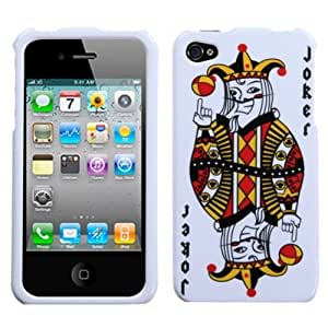 Joker Playing Card Phone Protector Cover for Apple iPhone 4S/4