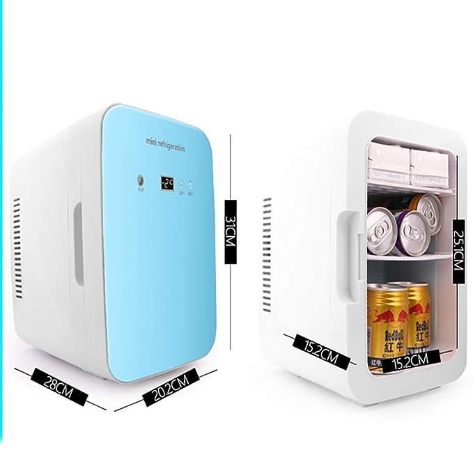 YOCC Mini congelador de sobremesa y Nevera portátil portátil ...