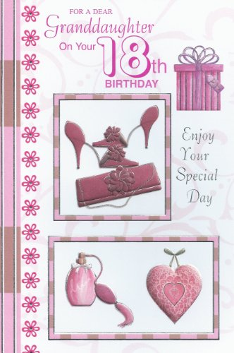 Amazon Special Ages For A Dear Granddaughter On Your 18th Birthday Card Office Products
