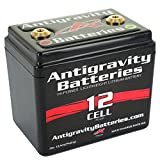 Antigravity Batteries AG-1201 Lithium-Ion Powersports Battery, Small Case, One Size, Black