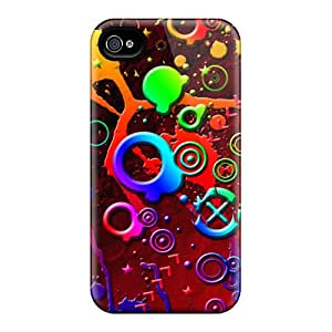 High Impact Dirt/shock Proof Case Cover For Iphone 4/4s (crazy Stuff)